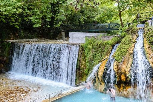 Edessa and Loutra Pozar Day Trip from Neoi Poroi